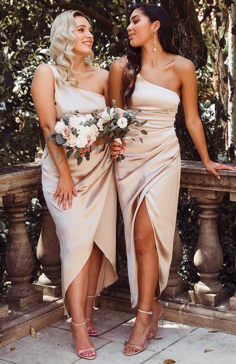 bridesmaid dresses, bridesmaid dress ideas, bridesmaid dress colors, bridesmaid dress styles, affordable bridesmaid dress, satin bridesmaid dress, champagne bridesmaid dress
