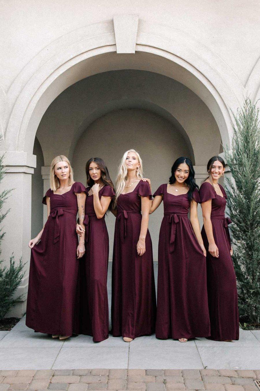 bridesmaid dresses, bridesmaid dress ideas, bridesmaid dress colors, bridesmaid dress styles, affordable bridesmaid dress, plum bridesmaid dresses