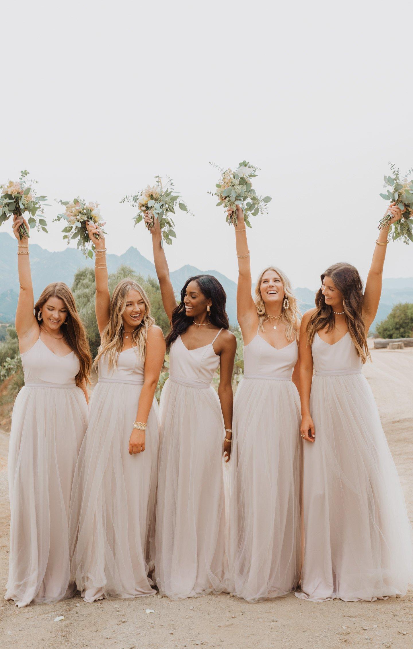 bridesmaid dresses, bridesmaid dress ideas, bridesmaid dress colors, bridesmaid dress styles, affordable bridesmaid dress, neutral bridesmaid dress, maxi bridesmaid dress