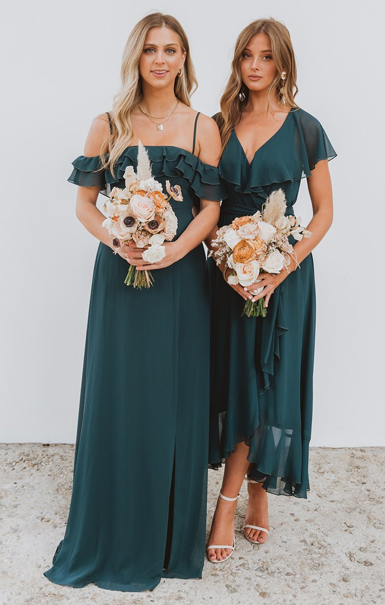 bridesmaid dresses, bridesmaid dress ideas, bridesmaid dress colors, bridesmaid dress styles, affordable bridesmaid dress, emerald bridesmaid dress, emerald green bridesmaid dress, maxi bridesmaid dress
