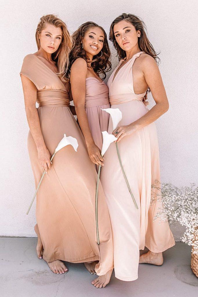 bridesmaid dresses, bridesmaid dress ideas, bridesmaid dress colors, bridesmaid dress styles, affordable bridesmaid dress, pink bridesmaid dress, convertible bridesmaid dress