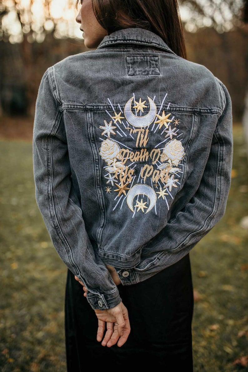 bride jacket, custom bride jacket, bride jacket wedding, bride jacket denim, bride jacket ideas, bride jacket boho, bride jacket wedding denim, bridal jacket, bridal jacket denim, bridal jacket cover up