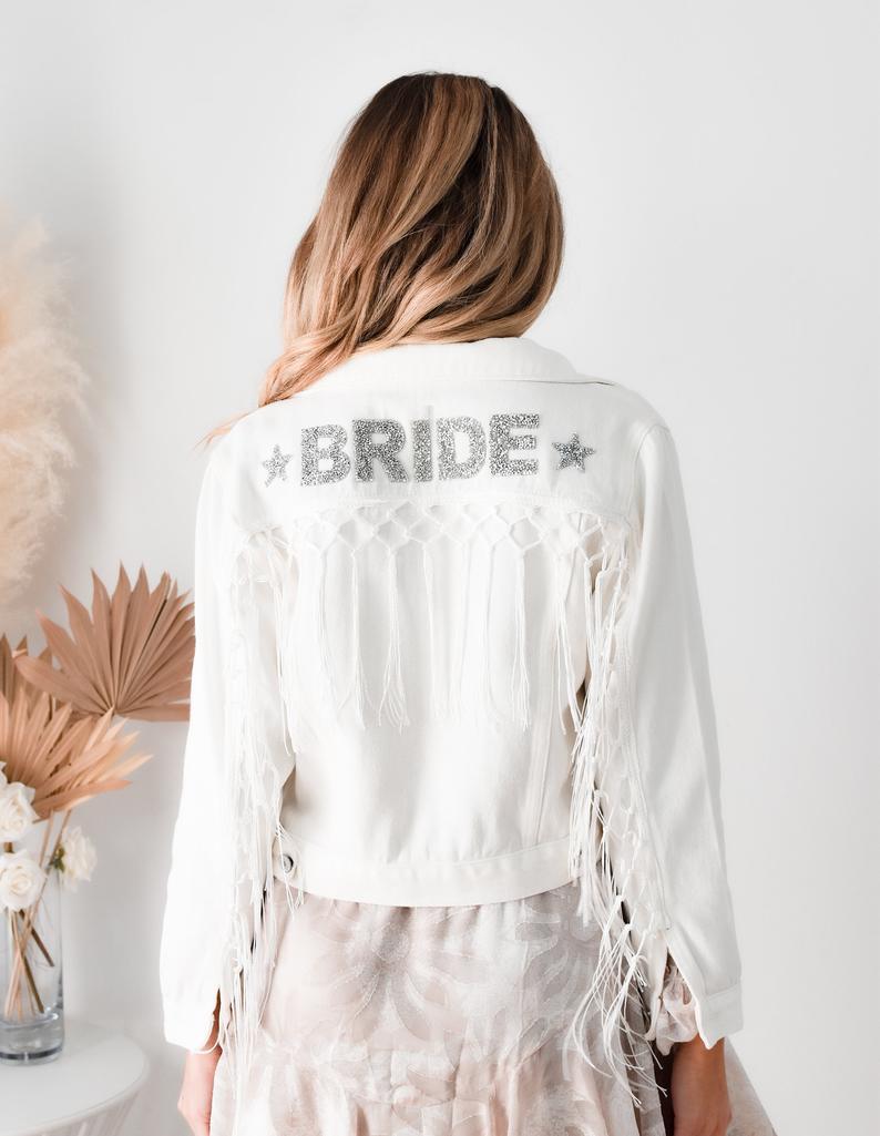 bride jacket, custom bride jacket, bride jacket wedding, bride jacket denim, bride jacket ideas, bride jacket boho, bride jacket wedding denim, bridal jacket, bridal jacket denim, bridal jacket cover up, white bride jacket