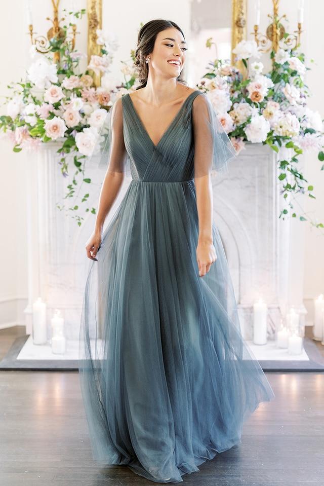bridesmaid dresses, bridesmaid dress ideas, bridesmaid dress colors, bridesmaid dress styles, affordable bridesmaid dress, tule bridesmaid dress, blue bridesmaid dress, maxi bridesmaid dress