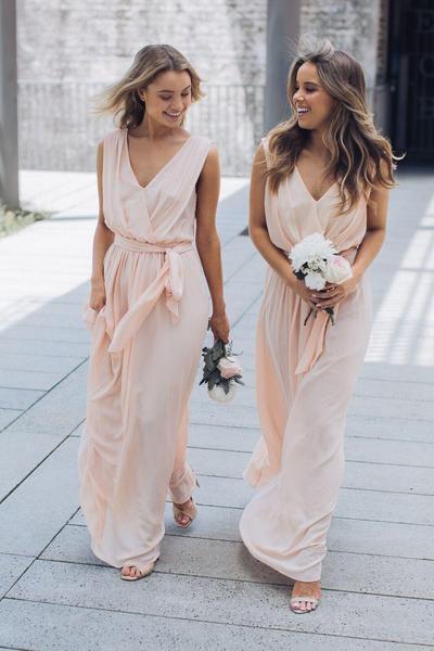 bridesmaid dresses, bridesmaid dress ideas, bridesmaid dress colors, bridesmaid dress styles, pink bridesmaid dress, maxi bridesmaid dress