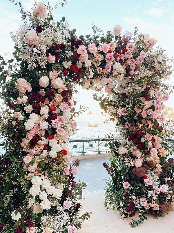 50+ Stunning Floral Weddings Arches!